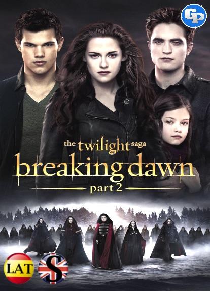 La Saga Crepúsculo: Amanecer – Parte 2 (2012) HD 1080P LATINO/INGLES