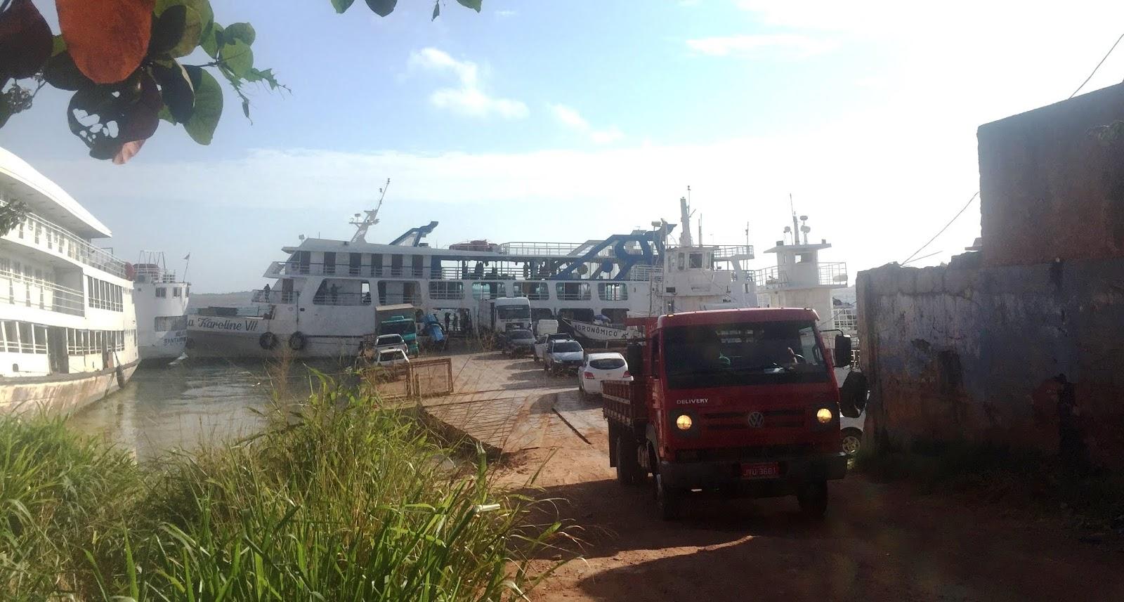 Juiz manda interditar porto da Marques Pinto; multa por desobediência é de R$ 100 mil