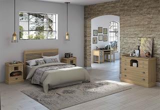 Dormitorio Matrimonio Roble Ardon