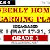 WEEK 1 GRADE1 Weekly Home Learning Plan Q4