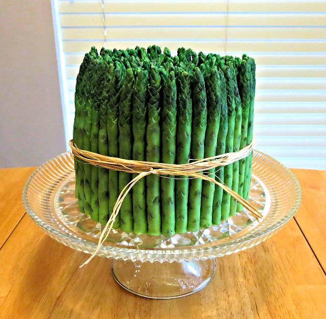 Asparagus Bundle Cake