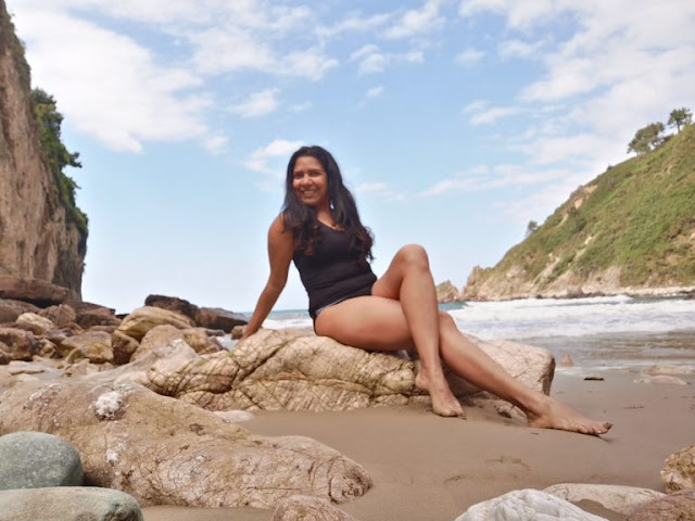 ESPAÑA: Playa De Xilo La Bahía Asturiana Que Me Ha Enamorado por Kaiser Solano Alpargata Viajera. TURISMO.