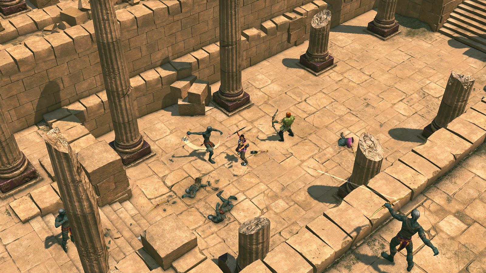 Titan Quest Anniversary Edition Atlantis PC ESPAÑOL (PLAZA) 5
