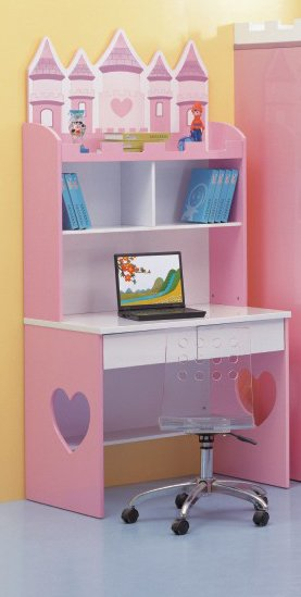 Pink Disney Castle Design Bureau for little princess