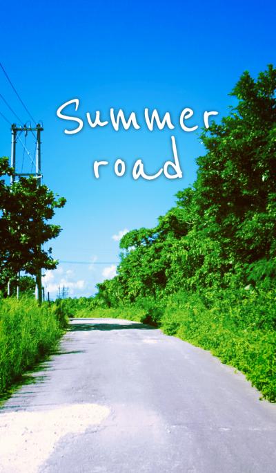 -summer road-