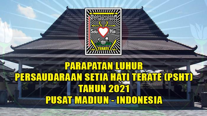 parapatan luhur psht tahun 2021