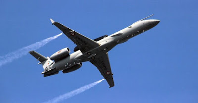 EMB-145 aircraft