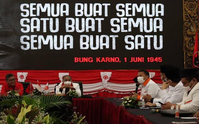 Sekjen PKS dan Rombongan Temui Sekjen PDIP, Sebut Mau Belajar Urus Negara