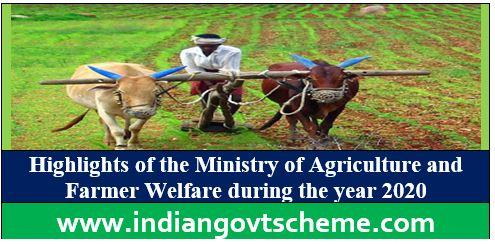 Agriculture and Farmer Welfare