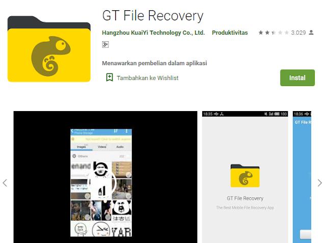 aplikasi pengembali file mudah