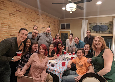 Friendsgiving dinner in Baltimore