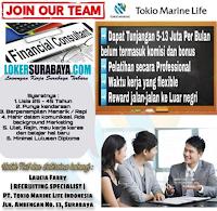 Info Loker Surabaya di PT. Tokio Marine Life Agustus 2020