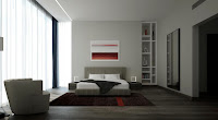 Modern bedroom design layout