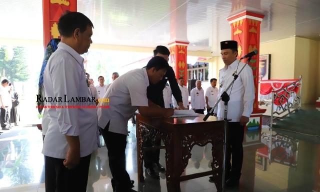 Ini Daftar Nama 196 Pejabat Lampung Barat yang Dirolling