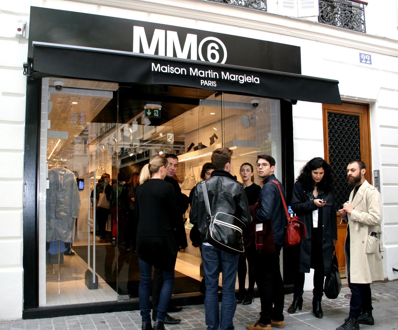 Le blog d'Anastasia: Inauguration de la boutique MM6 : Maison Martin Margiela.