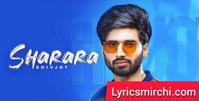 Sharara शरारा Song Lyrics | Shivjot | Latest Punjabi Song 2020