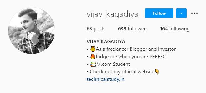 Short Instagram Bio for Boys