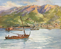 "Max Römer, ""Bay of Funchal"""