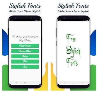 أفضل تطبيقات لتغيير الخطوط لمستخدمي Stylish+Fonts%E2%80%