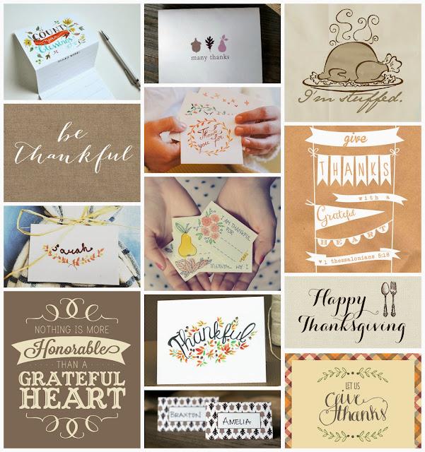 Thanksgiving Printables- lemonthistle.blogspot.ca