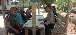 Operasi Bina Kusuma Seligi 2020, Sat.binmas Polres Lingga Lakukan Penyuluhan
