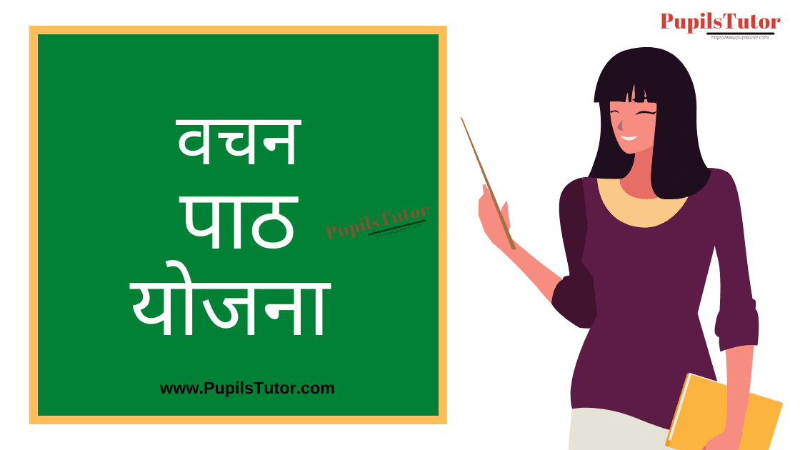 Vachan Lesson Plan in Hindi for B.Ed/DELED | वचन पाठ योजना हिंदी व्याकरण | Vachan Lesson Plan