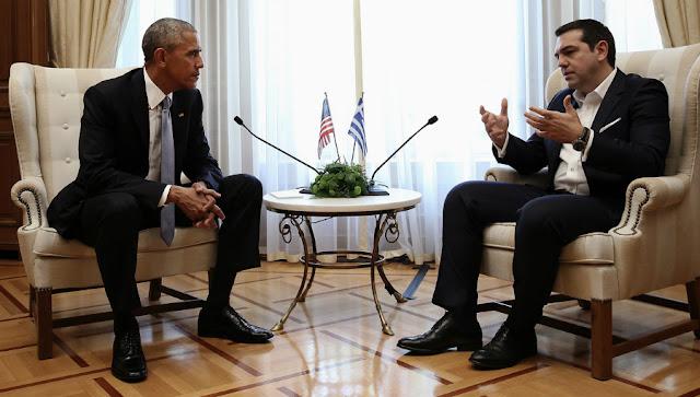 Τα παρατράγουδα του Αλέξη στον Ομπάμα