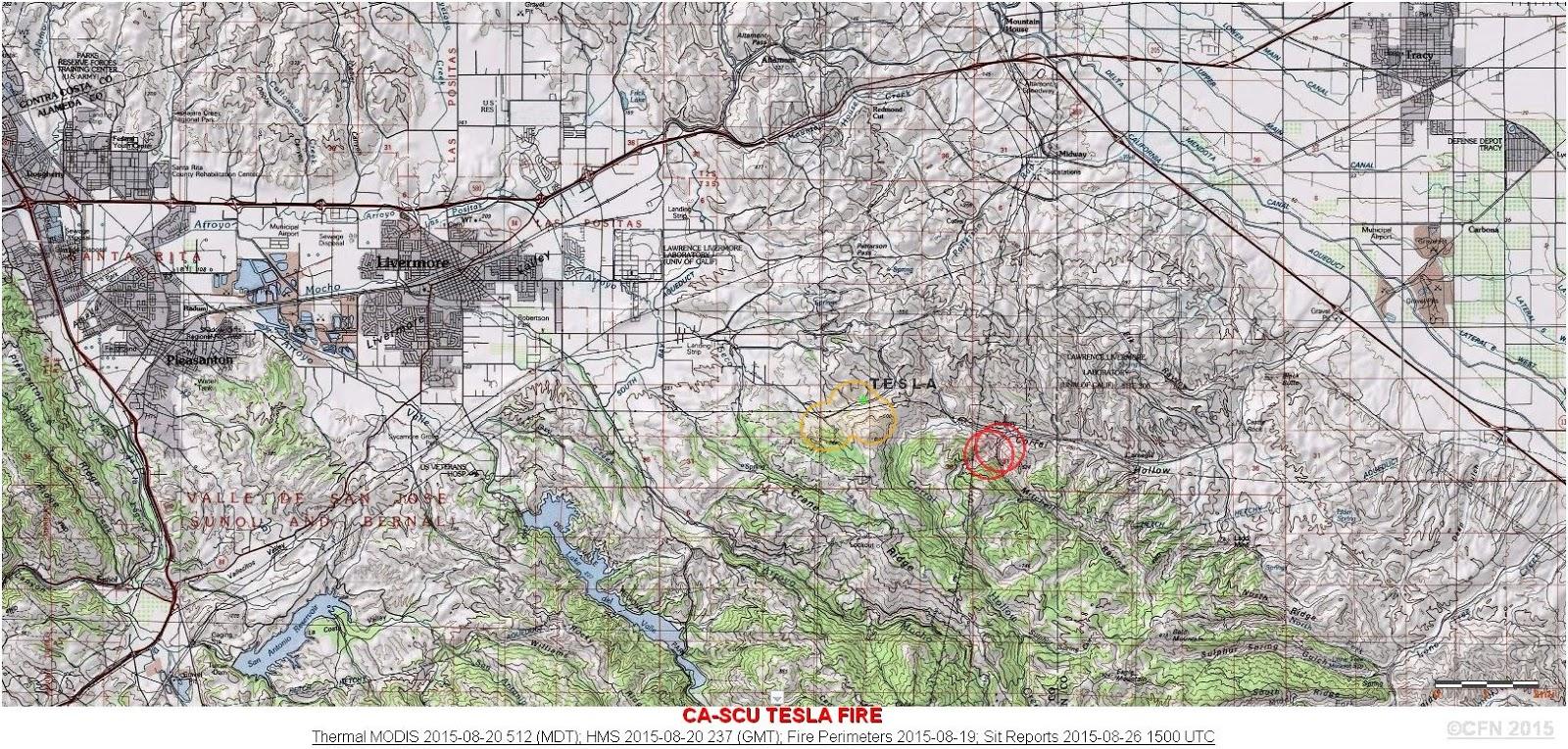 CFN - CALIFORNIA FIRE NEWS - CAL FIRE NEWS : CA-SCU- Tesla ... Scu Map on sto map, scg map, jcu map, slu map, ccu map, sfa map, stp map, smc map, sco map, stc map, sou map, snu map, sas map, acu map, spi map, smu map, siu campus map, stl map, spu map, scf map,