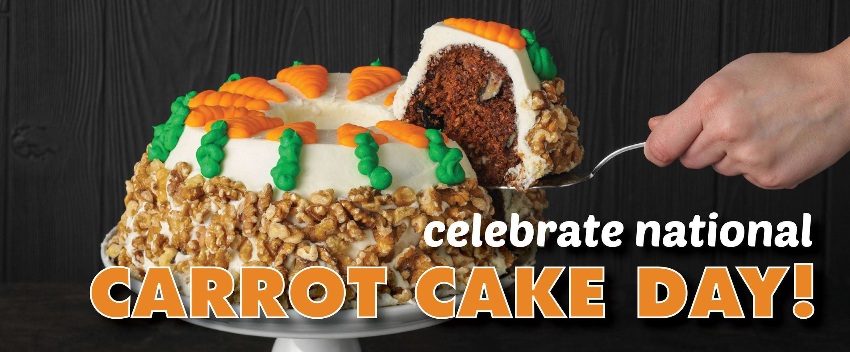 National Carrot Cake Day Wishes Unique Image