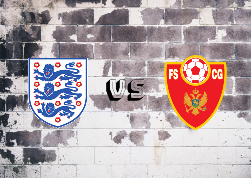 Inglaterra vs Montenegro  Resumen y Partido Completo