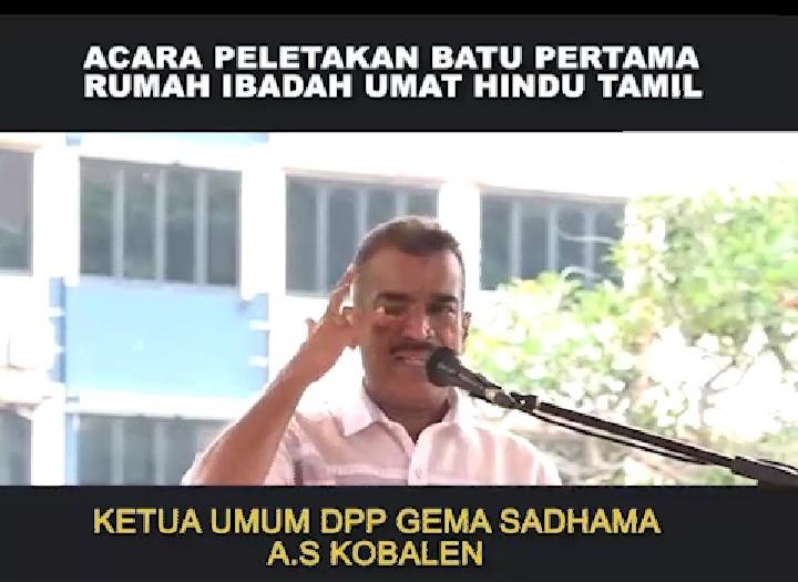Isak Tangis Warga Hindu Tamil di Depan Anies: Kami Speechless