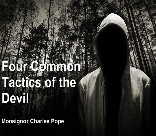 The devil's tactics to distract us away from JESUS