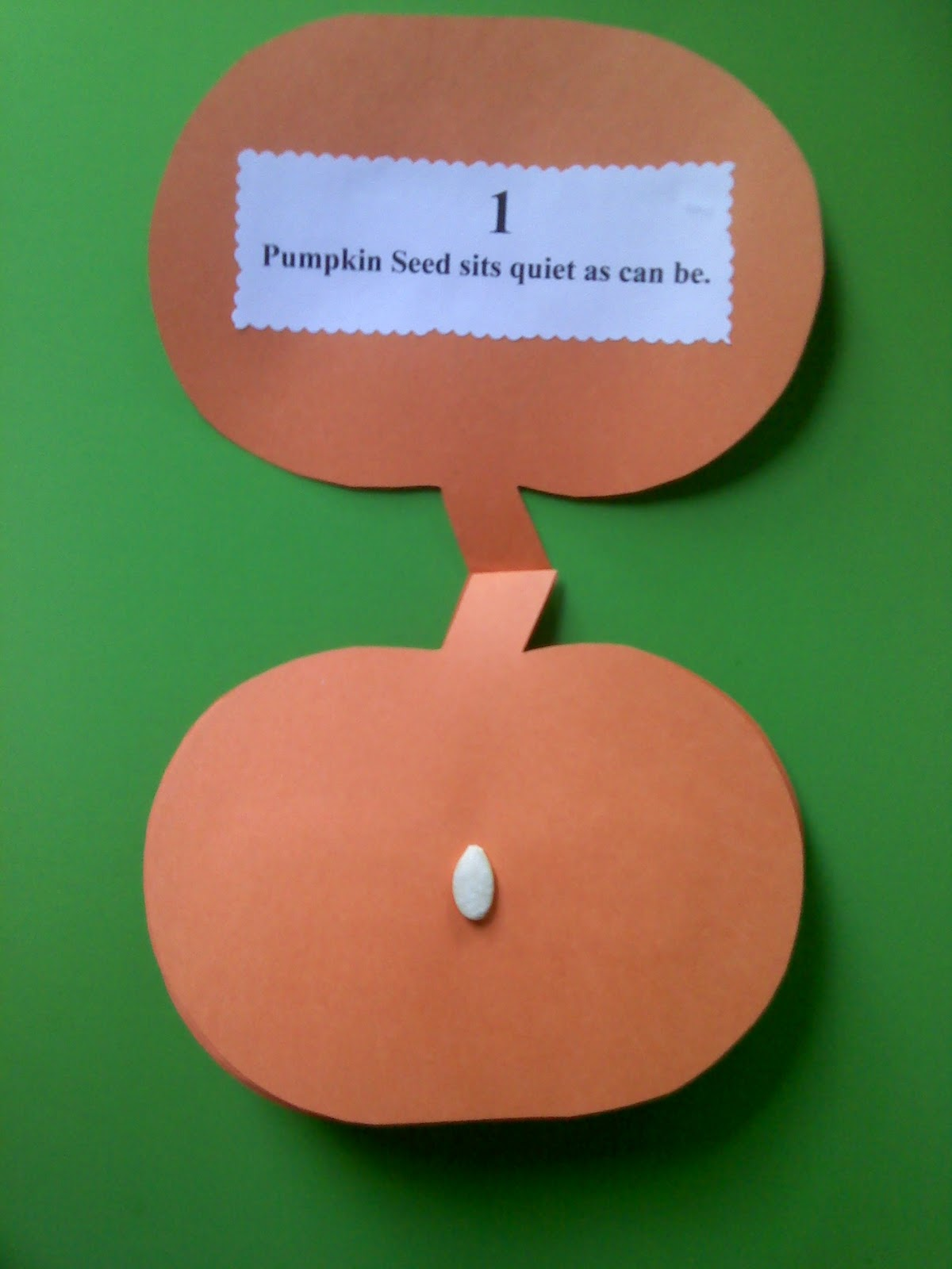 Crafts For Preschoolers Pumpkin Counting Book