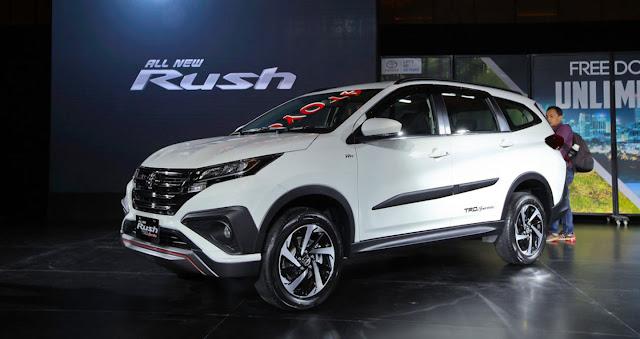 Rò rỉ nội thất của Toyota Rush năm 2018 ảnh 1