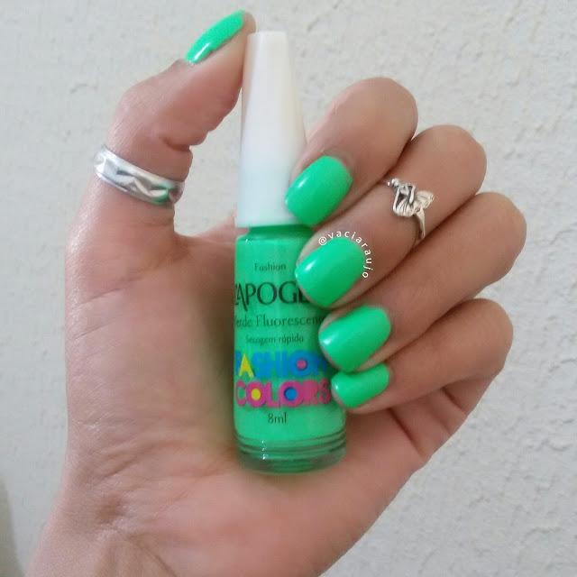 Esmalte Verde Fluorescente