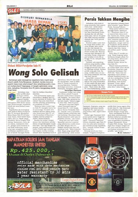 LIGA INDONESIA DISKUSI BOLA-PERSIJATIM SOLO FC