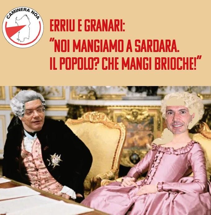 """Erriu e Granari: """"Noi mangiamo a Sardara. Il popolo? Che mangi brioche!"""""""
