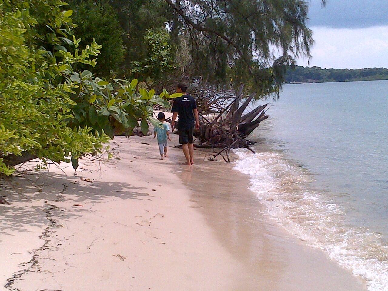 Pantai Indah, Pulau Lengkana Belakang Padang 6