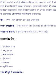 smas hindi vyakaran