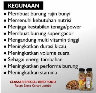 SPECIAL EDITION PAKAN BURUNG KENARI CLASSER EXTRA FOODING YNP