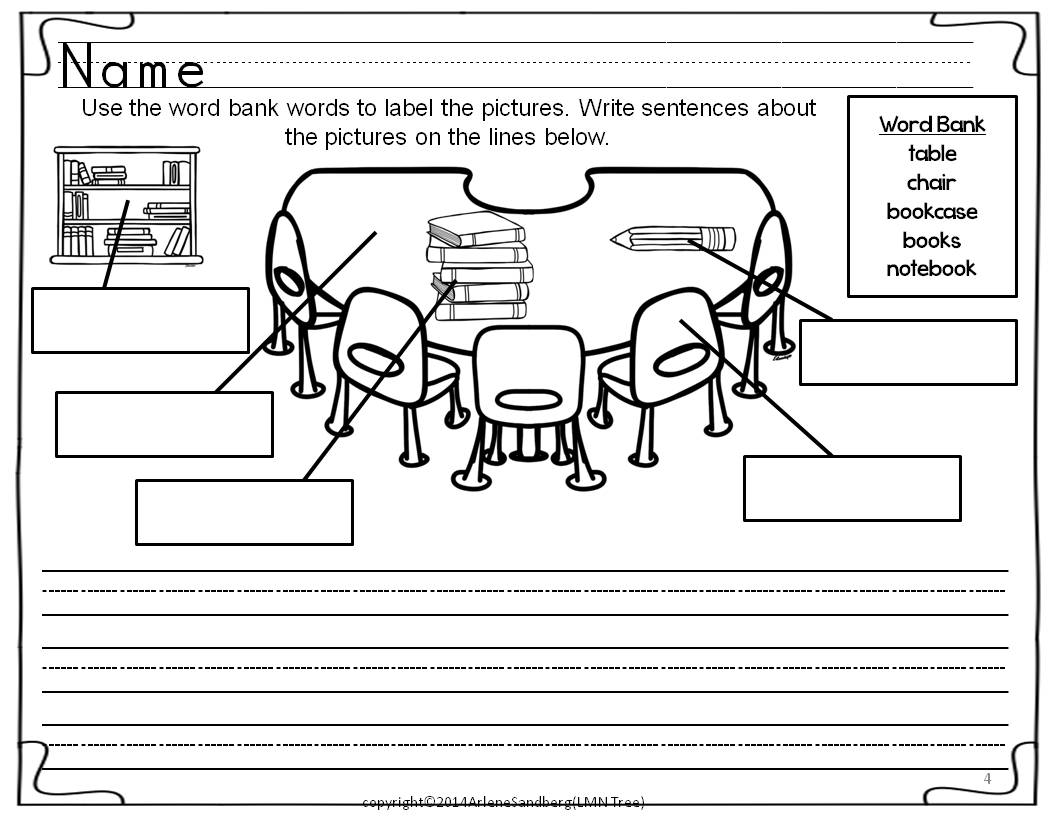 Back To School Writing Activities Packet