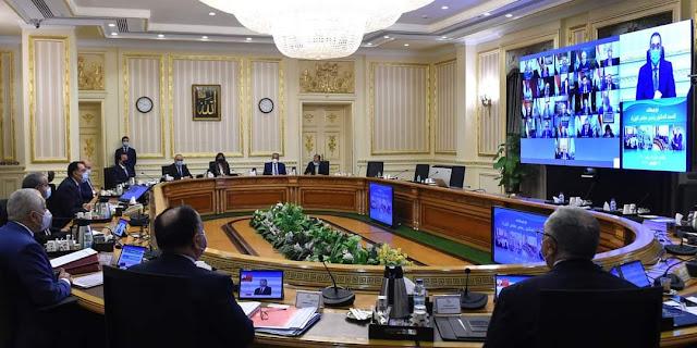 وزيرة الصحة تعرض تقريرا أمام مجلس الوزراء حول الموقف الراهن لفيروس كورونا المستجد في مصر