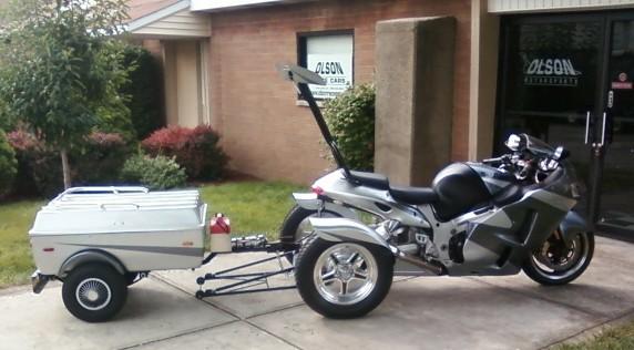 CUSTOM Bike Trike Trailers in Indiana USA