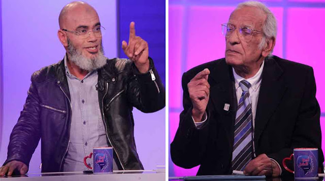 مشادة كلامية حادّة بين الفيلسوف يوسف الصديق ومحمد الهنتاتي حول صلاة الجمعة
