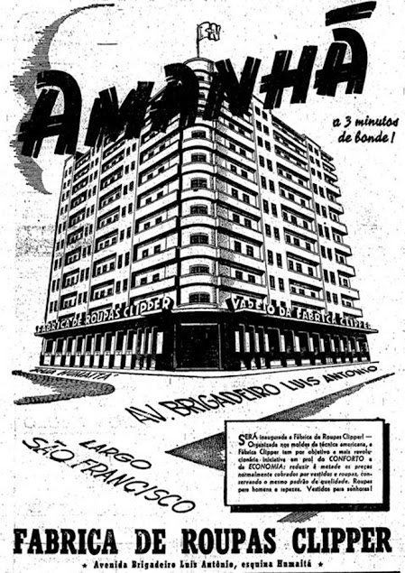Anúncio Publicitário Primeiro dia dos Namorados no Brasil em 1949