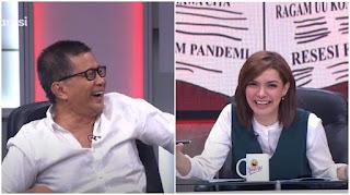 Rocky Gerung Tak Sadar Sudah On Air dan Ucapkan Kata Ini, Najwa: Mau Ralat?