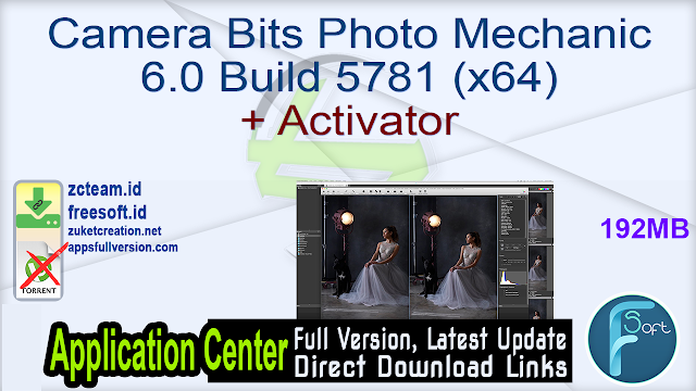 Camera Bits Photo Mechanic 6.0 Build 5781 (x64) + Activator_ ZcTeam.id