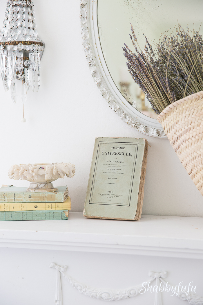 french-mantel-with-books