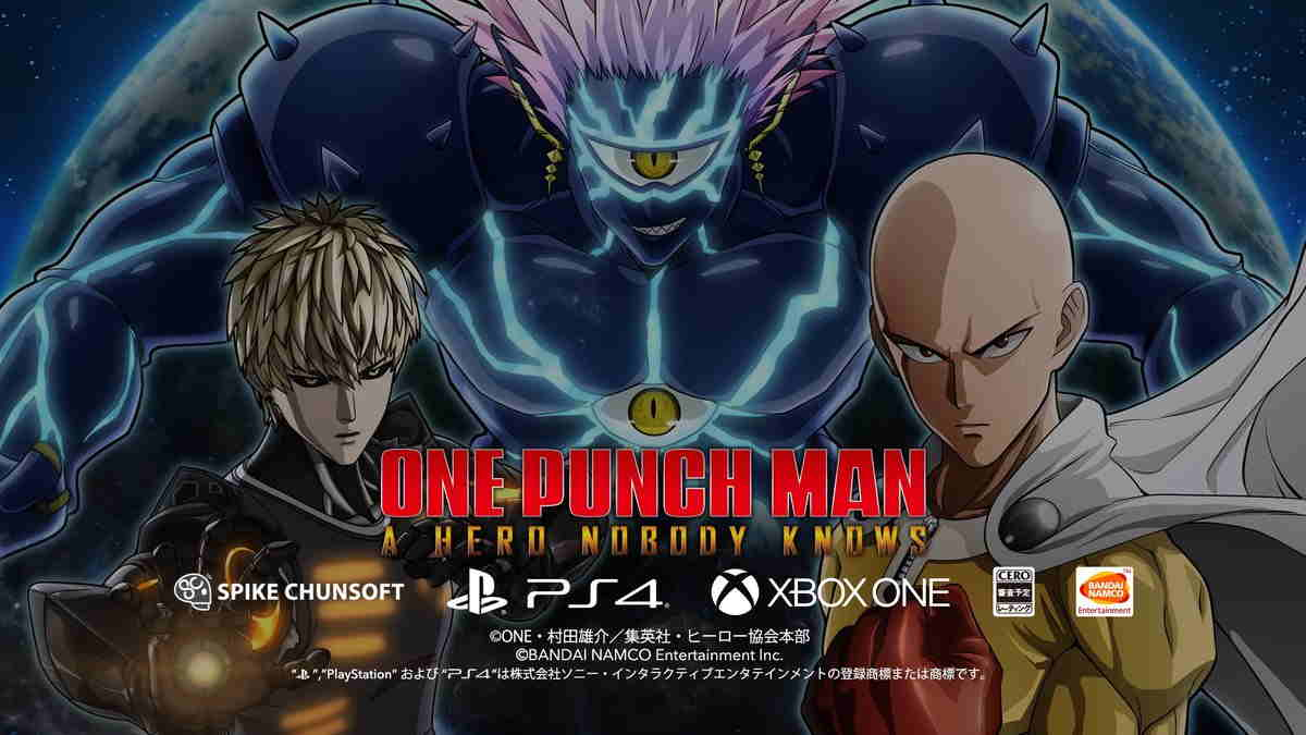 ONE PUNCH MAN A HERO NOBODY KNOWS PS4,Xbox One,PC Digital. Inilah PV nya