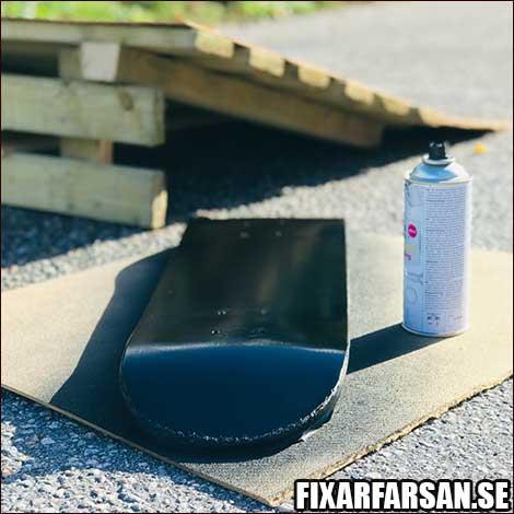 Måla-Bräda-Skateboard